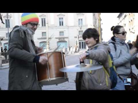 Conservatorio Nicolini, una giornata di protesta