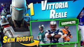 Shoppo le *NUOVE* SKIN NFL + Vittoria reale con La SKIN SEGRETA Leggendaria! Fortnite Battle Royale!