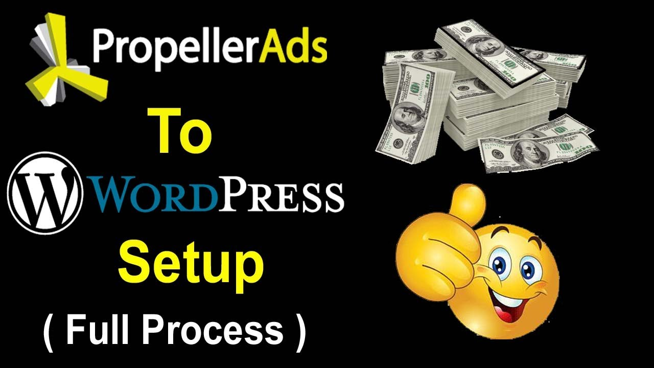 How To Verify & Monetize Wordpress Site With Propeller Ads & Setup Ads Step By Step for Make