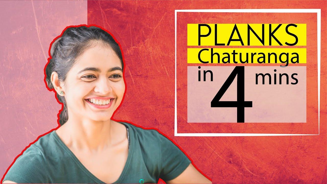 Plank & Chaturanga Tutorial| EP 11| Yoga with Deepa Sharma