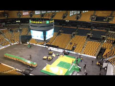 TD Garden timelapse: Bruins to Celtics (3/31/18)