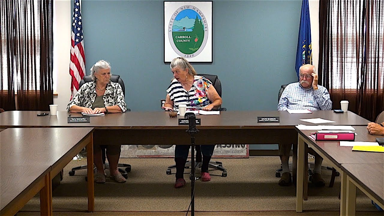 Carroll County Commissioners | Government Oversite