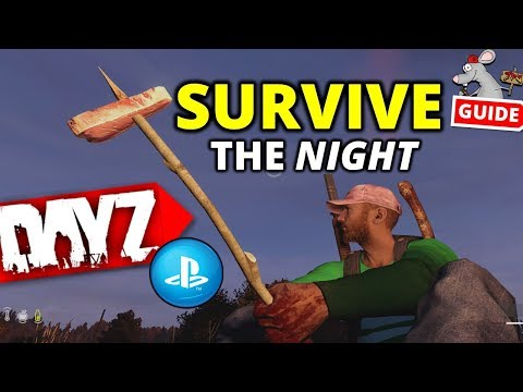 DAYZ PS4 Tips! - HOW TO SURVIVE THE NIGHT! Fire And Cooking On Night Time Servers