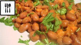 Закуска из красной фасоли с оливковым маслом По-Турецки в томатном соусе / Zeytinyagli Barbunya