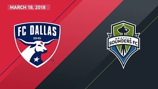 Video Gol Pertandingan FC Dallas vs Seattle Sounders FC