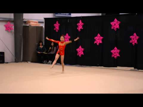 Kathleen DU, Rhythmic Gymnastics Level 6, Floor