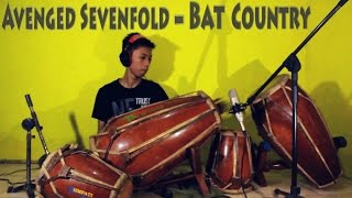 Avenged Sevenfold Bat CountryKendang Cover by Risang Gotho