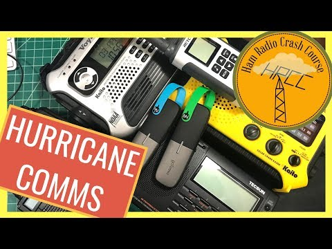 Emergency Hurricane Communication Recomendations