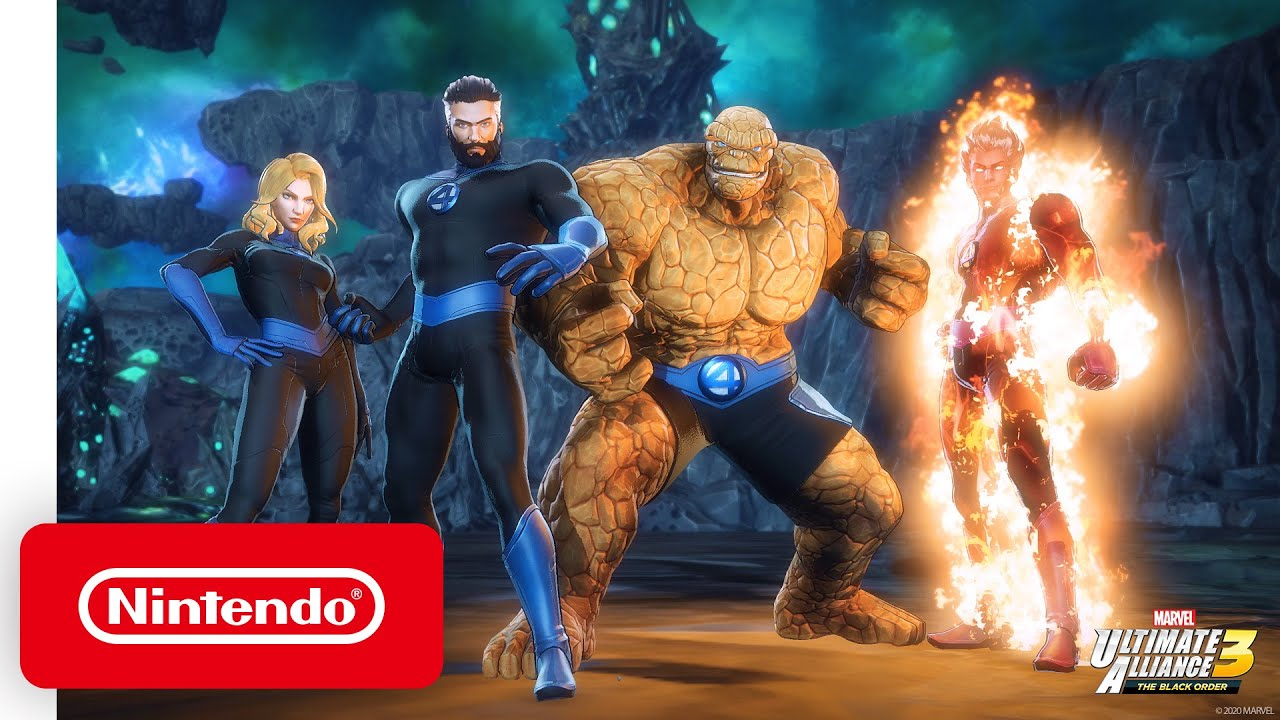 MARVEL ULTIMATE ALLIANCE 3: The Black Order Expansion Pass – Pack 3: Fantastic Four: Shadow of Doom - Nintendo