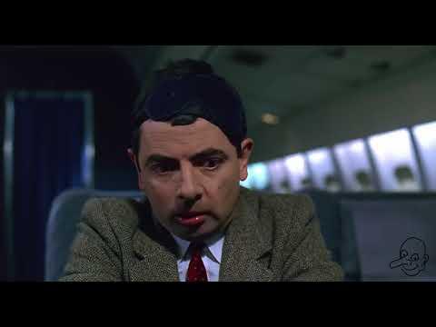 HD First Class Flight Mr  Bean