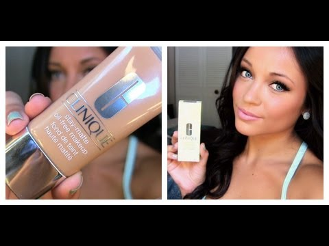 Clinique Stay Matte Review Hg Summer Foundation Youtube