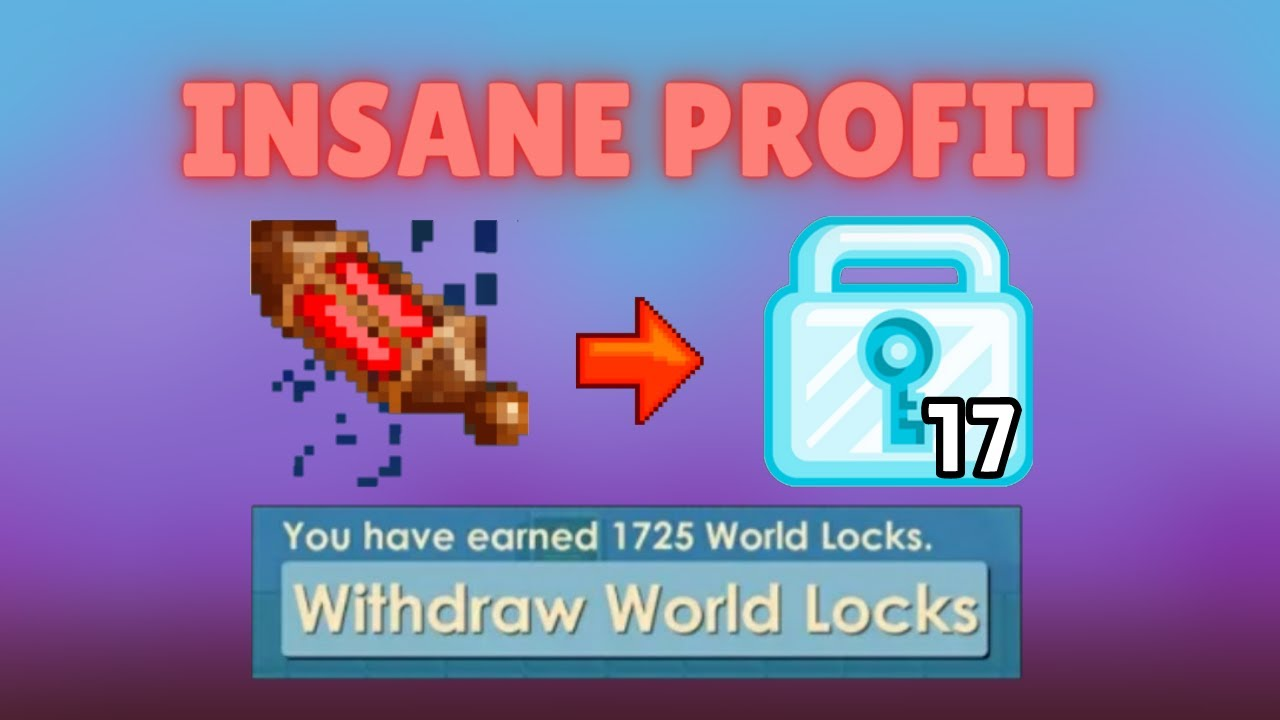 INSANE PROFIT ? WITH ANCES OF RICHES (NO FARMING!!!) HOW TO GET RICH FAST!   Growtopia