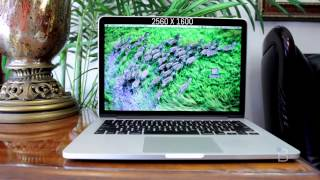 13-inch MacBook Pro With Retina Display First Impressions