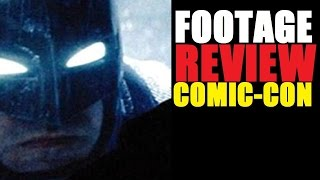Batman V Superman Footage Review (Comic-con Footage)
