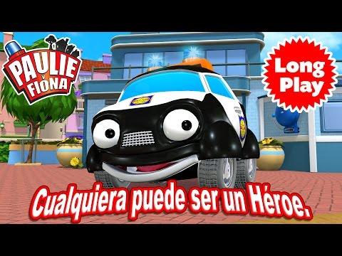"""Paulie y Fiona 2 - Bundle """"Cualquiera puede ser un héroe"""" Animación infantil de larga duración"""