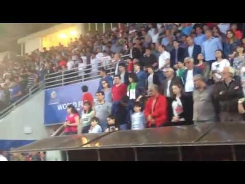Western  Armenia ( Гимн Западной Армении на чемпионате мира по футболу ( ConiFa) в Абхазии