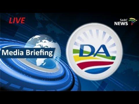 DA media briefing on UDM's Bobani ultimatum, 28 August 2017