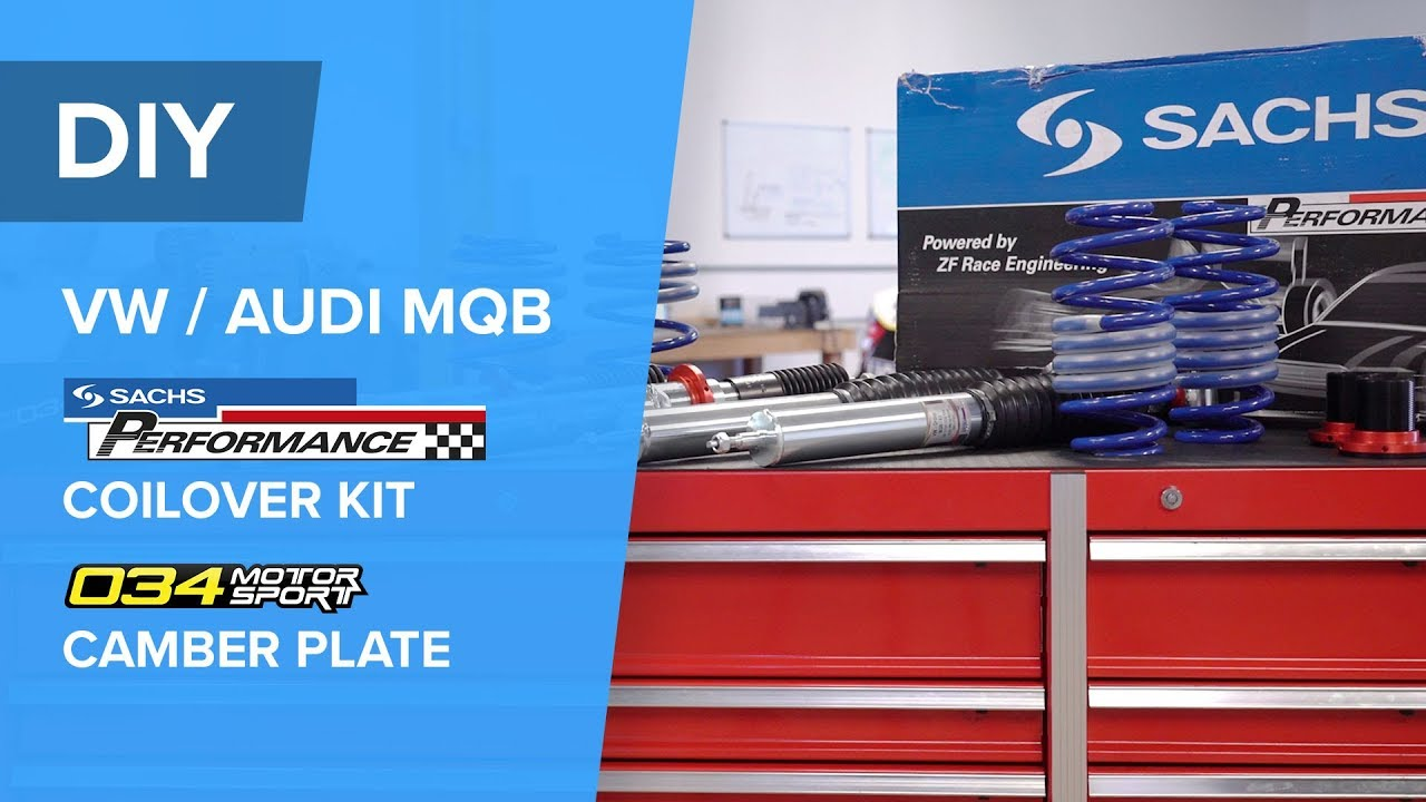How To Install An Audi/VW Coilover Kit - SACHS Performance
