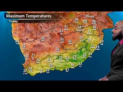 SA #Weather Forecast   02 Jan 2019