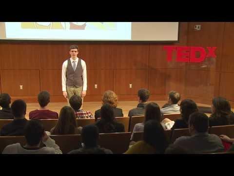 I am not a freestyle rap genius: Dan Cluskey at TEDxVillanovaU