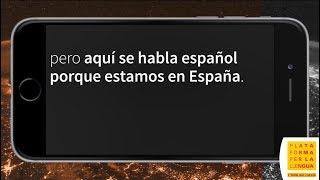 """Orange: """"Aquí se habla español porque estamos en España"""""""