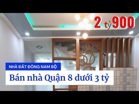 Chính chủ Bán nhà hẻm 2683 Phạm Thế Hiển phường 7 Quận 8 dưới 3 tỷ. DT 4,4x12m
