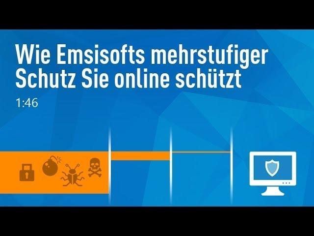 Wie Emsisofts mehrstufiger Schutz Sie online schützt | Emsisoft