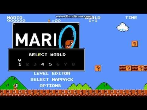 Марио портал!