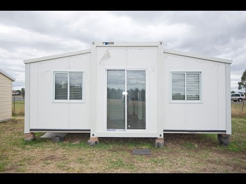 Luxury Australia Expandable Container House For Sale