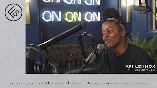 Ari Lennox Interview with Jack Inslee on Full Service Radio at the LINE DC