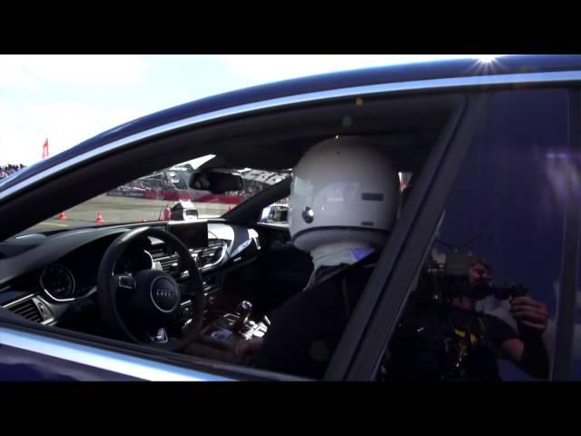 Porsche Panamera Turbo S vs Audi RS7  Sporter TV  All About Sport