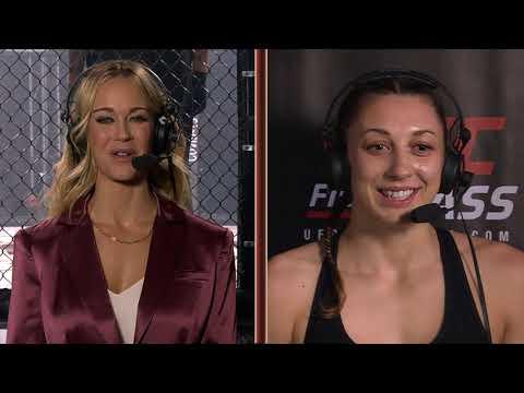 Invicta FC 43: Juliana Miller Post-Fight Interview