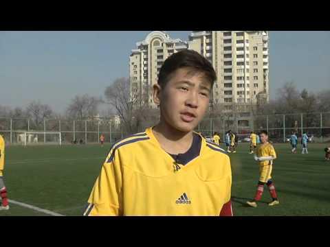 В Алматы стартовало зимнее первенство по футболу. (12.01.16)