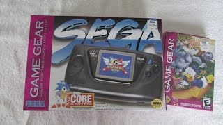 New SEGA GAME GEAR Unboxing