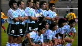 Argentina campeón copa américa 1991 y 1993