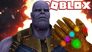 INFINITY WAR in ROBLOX!!