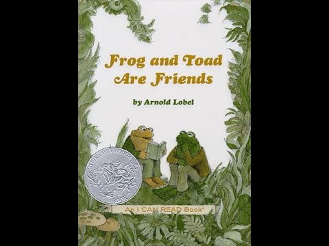 frog and toad are friends by arnold lobel spring the story youtube