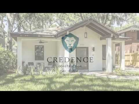 Credence Construction - Anglo-Caribbean Style House