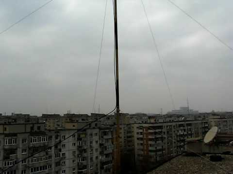 Inverted V Antenna & Ugly Balun for 40m Band - YouTube