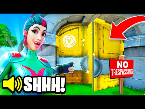 I Stream Sniped a SECRET SKINS ONLY Tournament! (Fortnite)