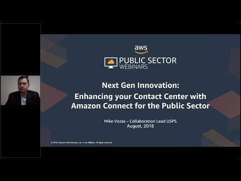 Next Gen Innovation: Enhancing Your Contact Center with Amazon Connect for the Public Sector