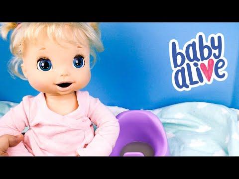 Potty Training Baby Alive Doll Beatrix