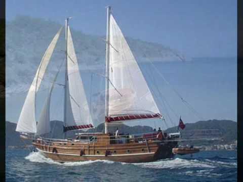 Charter gulet Yorgun in Turkey.wmv