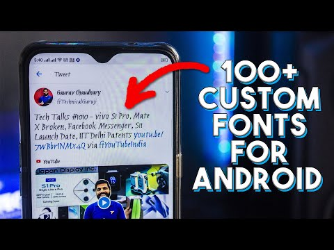 How To Change Font In Any Android Without Root 2020