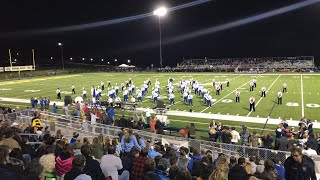 Freeport Area Marching Band 2018 Halftime Show