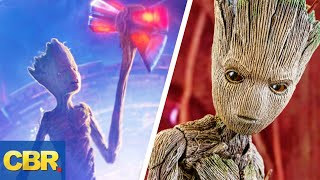 The REAL Reason Why Groot Can Lift Thors Hammer And The Other Avengers Cant