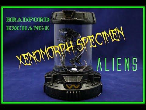 Xenomorph Specimen Unboxing - Bradford Exchange| Guru Reviews