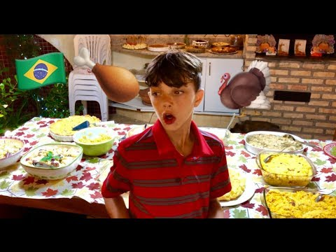 Thanksgiving in Brazil 2018