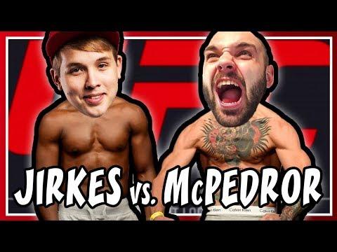 KDO JE LEPŠÍ UFC BOJOVNÍK? | Pedro vs. Jirka