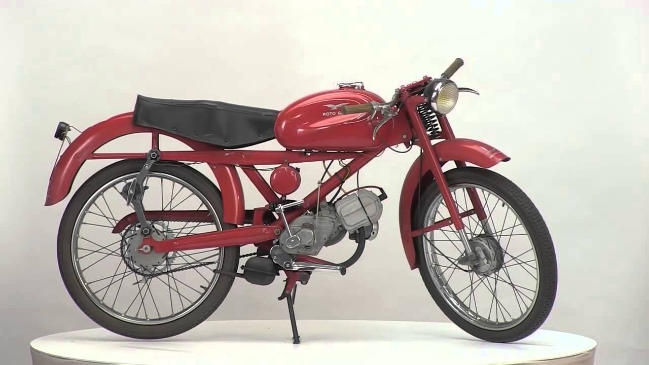 Moto guzzi cardellino 1964 youtube for Mobilia 1970